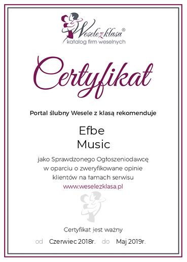 Wesele Z Klasą Rekomenduje Efbe Music Efbe Music